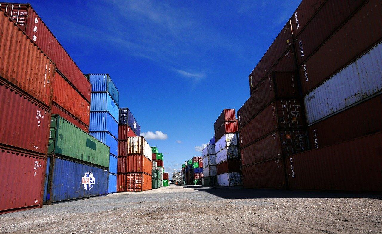 containers de marchandises